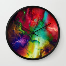 Everything is nothing 2 (therefore it was beautiful) Wall Clock