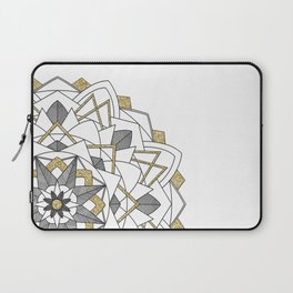 Glitter and Gold Laptop Sleeve