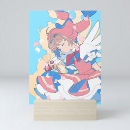 Sakura Kinomoto & Kerberos Mini Art Print