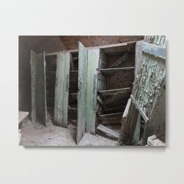 Cell in Eastern State Penitentiary Metal Print
