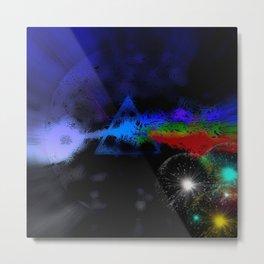 Dark Side Of The Moon Reload Metal Print