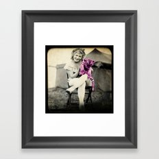 T-T-F-N: ta-ta for now! Framed Art Print