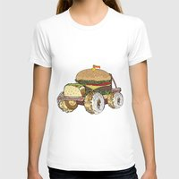 junk food T-shirts featuring junk food car by immiggyboi90