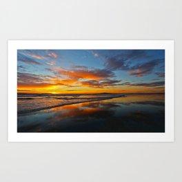 Bolsa Chica Sunset 11/23/13 #2 Art Print