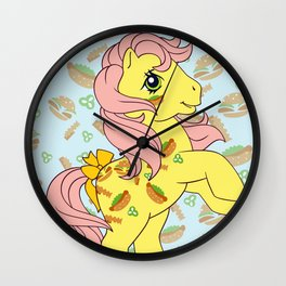 G1 my little pony Munchy Wall Clock