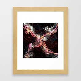 X Framed Art Print