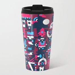 Schema 2 Metal Travel Mug