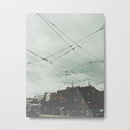 Queens Street West Metal Print