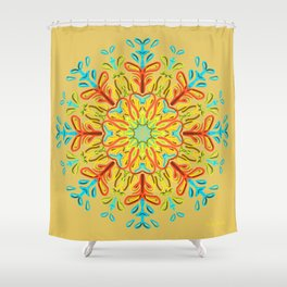 Gracias a la Vida (Ambar) Shower Curtain