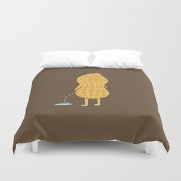Peenut (brown) Duvet Cover