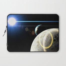 Moon Earth Laptop Sleeve