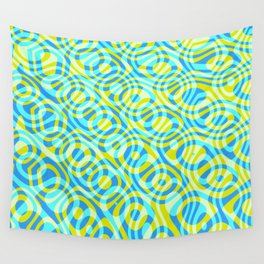 Mixed Polyps Yellow - Coral Reef Series 039 Wall Tapestry