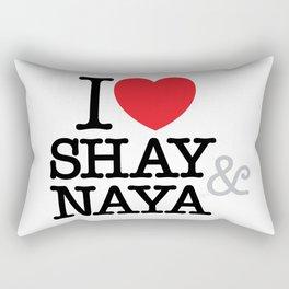 I Heart Shay & Naya Rectangular Pillow