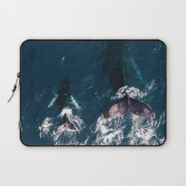 Ocean Family Whales Laptop Sleeve