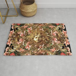 Flowers at the Gate Rug