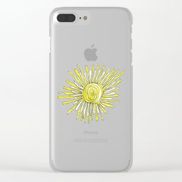 Hold The Light Clear iPhone Case