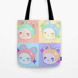 Lil Bun Pop Art Tote Bag