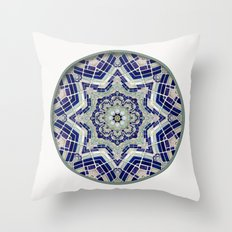 Looking Up Dome Mandala Throw Pillow