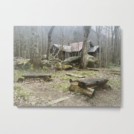 Appalachian Ghost town Metal Print