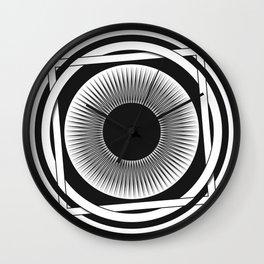 Interweaving Wall Clock