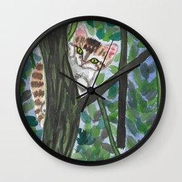 Peekaboo Wall Clock