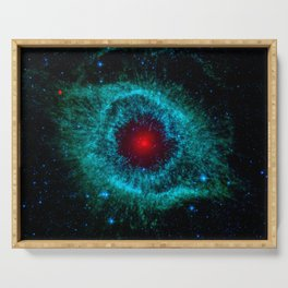 Comets Kick up Dust in Helix Nebula Serving Tray