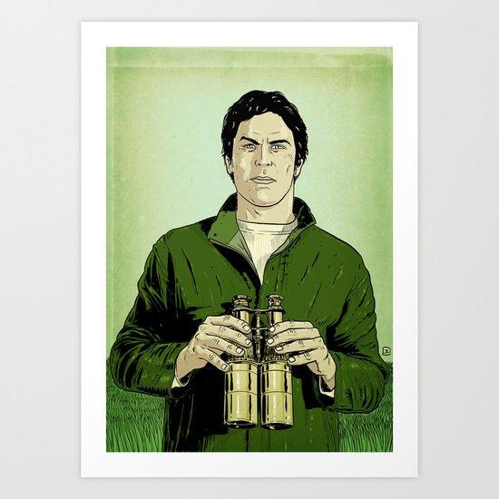 Envy is green Art Print