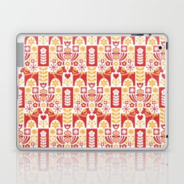 Swedish Folk Art_Mid-Century Modern Laptop & iPad Skin