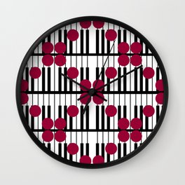 PIANO DOTS TTY N19 Wall Clock