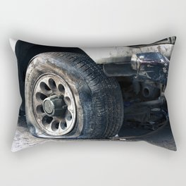 Flat Tire! Rectangular Pillow