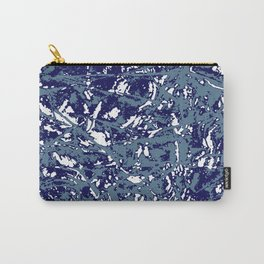 Splatter Print - Mono Carry-All Pouch