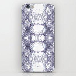 Threads Purple. iPhone Skin