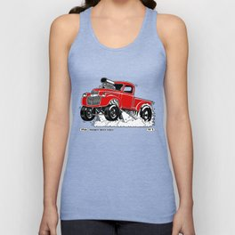 1946 Chevy Pick-up – RED Unisex Tank Top