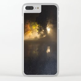 Dockside, by the stars Clear iPhone Case