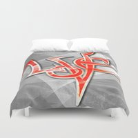 all you need is love Duvet Covers featuring All You Need Is Love by Sherdeb Akadan