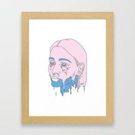 Girlscream. Framed Art Print