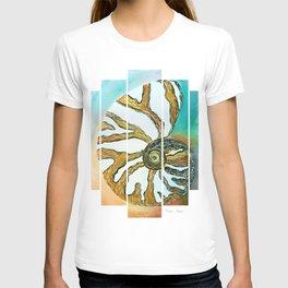 Oceana Chambered Nautilus-Barbara Chichester  T-shirt