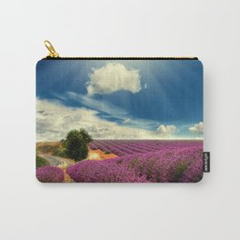 Beautiful image of lavender field Carry-All Pouch