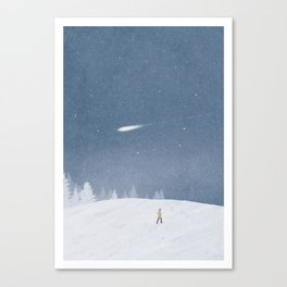 Look up to the stars #3 Canvas Print