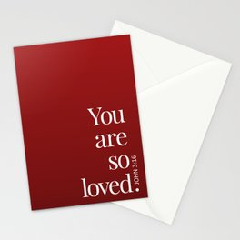 So Loved Stationery Cards