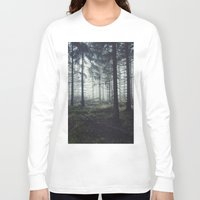 skyfall Long Sleeve T-shirts featuring Through The Trees by Tordis Kayma
