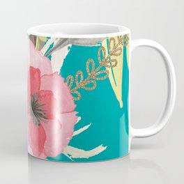 Flowers , floral , shabby chic décor,  flower decor , Coffee Mug