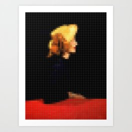 Lego: Vogue Cover Art Print