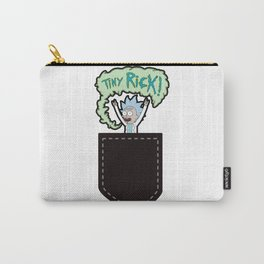Tiny Rick Pocket Carry-All Pouch