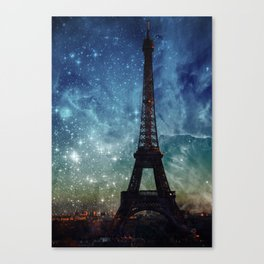 Cosmic Tower II Canvas Print