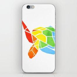 Shapeshifting Turtle iPhone Skin