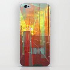 Opaque world iPhone & iPod Skin
