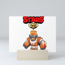 Mecha Bo design | Brawl Stars Mini Art Print