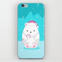 polar bear iPhone & iPod Skins featuring Polar bear by eDrawings38