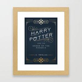 Order of the Phoenix Framed Art Print